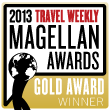 Travel Weekly Gold Magellan Award for Travel Agents